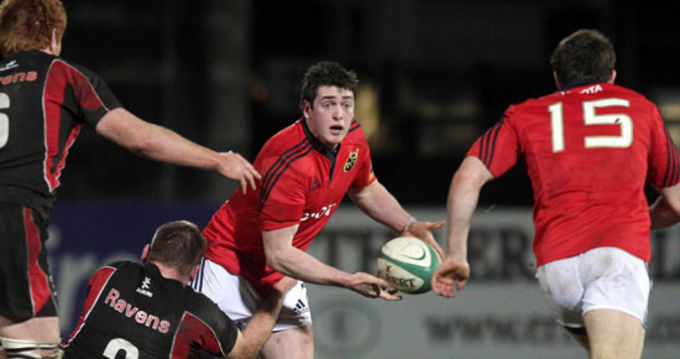 Ronan O'Mahony in action at the B&I Cup quarter final
