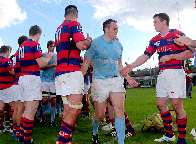 Garryowen Captain Rory Brosnan will lead his side to Thomond Park to face Cork Con in the ODM Financial Munster Senior Cup Final