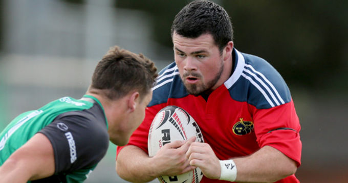 Rory Burke is one of three new signings to the Munster Academy