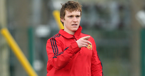 Ireland U20s player Rory Scannell is promoted from the sub academy to the academy for season 2013/14