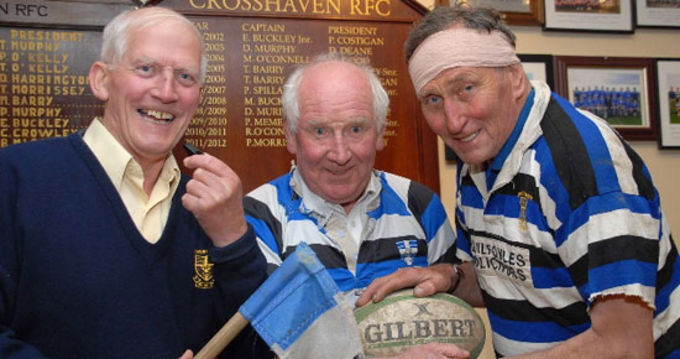 Joe Drennan, Mossy Barry and Eddie Buckley preparing for the event