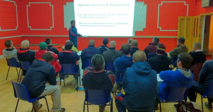 Rugby Faculty Workshop presented by Munster's Andy Brace