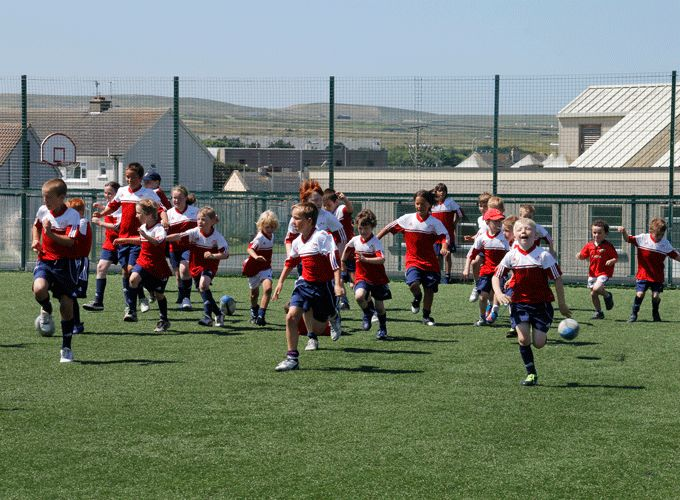 Participants enjoying last year's Summer Camp at Kilkee