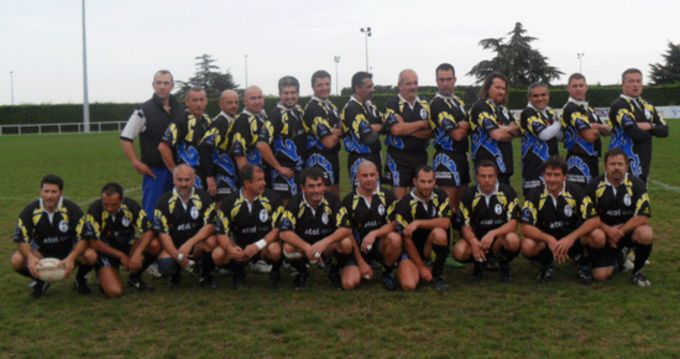 St. Apollinaire Squad on a recent visit to Scariff RFC