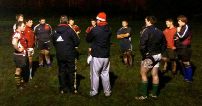 Munster Scrum Coach Paul McCarthy at Killarney RFC