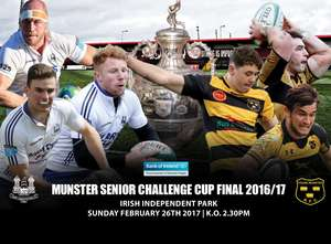 Bank of Ireland Munster Senior Challenge Cup Final Preview
