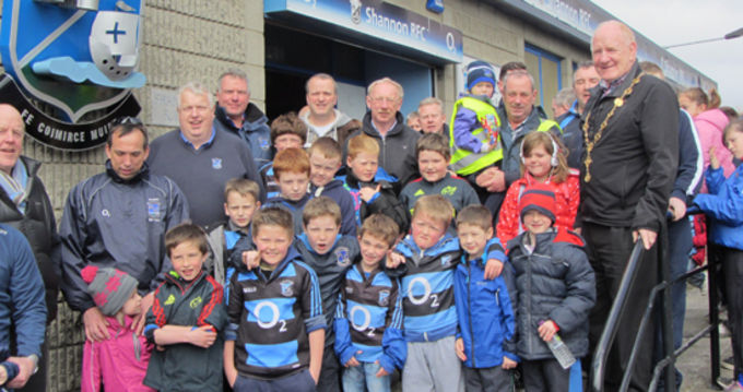 Shannon RFC annual President's walk which raises funds for local charities