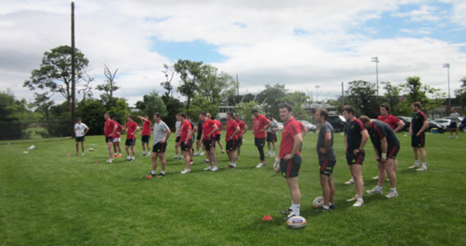 The Munster Squad at CIT today