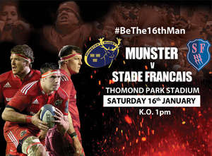 Ticket, Train & Hospitality Update: Munster V Stade
