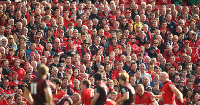 Munster Supporters at Thomond Park