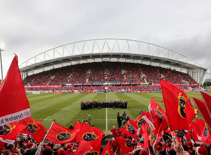 Thomond Park looking forward to Heineken Cup action this Sunday