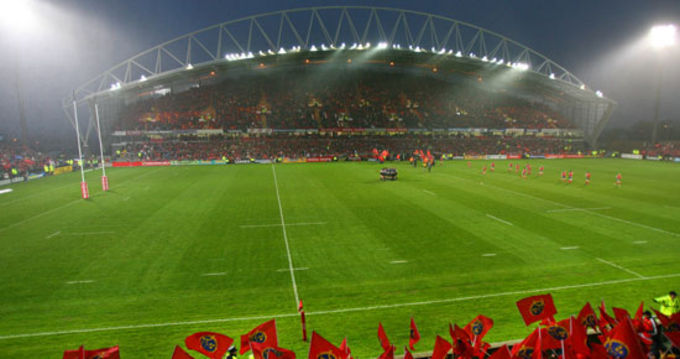 Thomond Park is set for Saturday evening action for Munster's 12th Heineken Cup quarter final