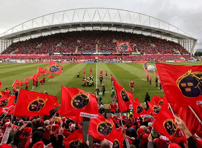 Be part of the Sea of Red this weekend at Thomond Park