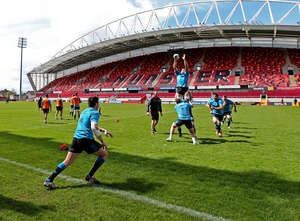 In Pics: Scarlets Preparations