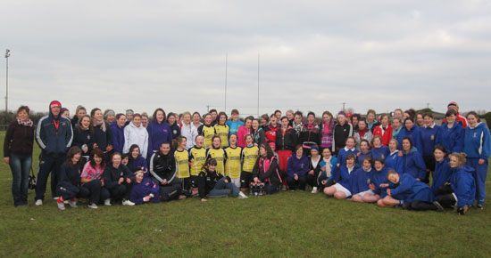 Participants At theGirls Primary School Tag Blitz