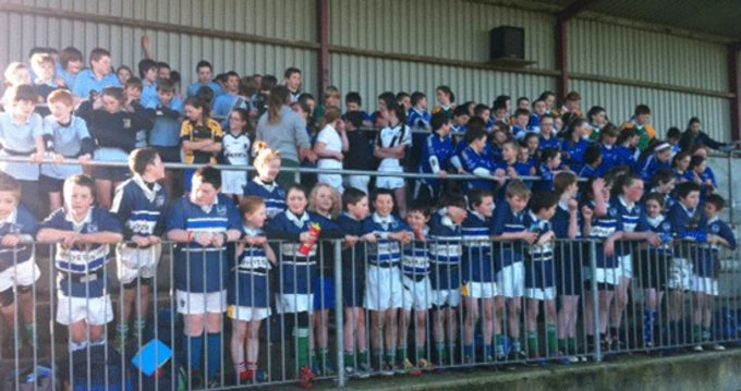 Participants at the Tipperaty Schools Blitz in Nenagh RFC