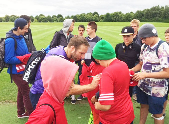 Cork English College Students Attend Munster Training Session