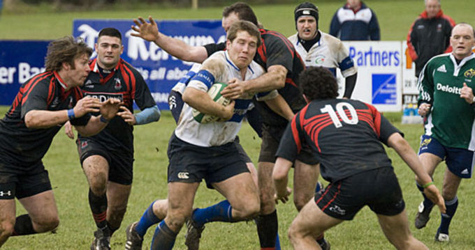 Tralee RFC in action