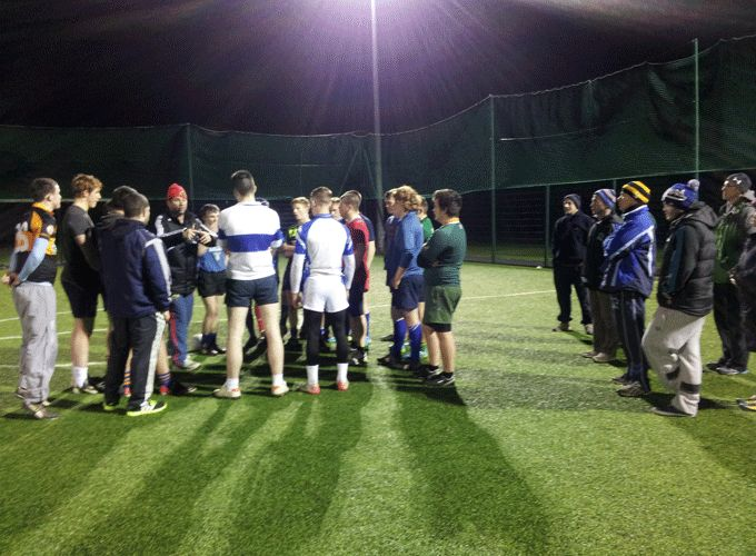 Tralee's U17 and U18 Combined squad who took part in the coaching workshop