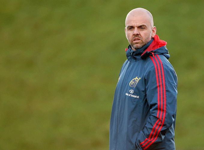 Munster Rugby Head of Fitness - Adam Trypas
