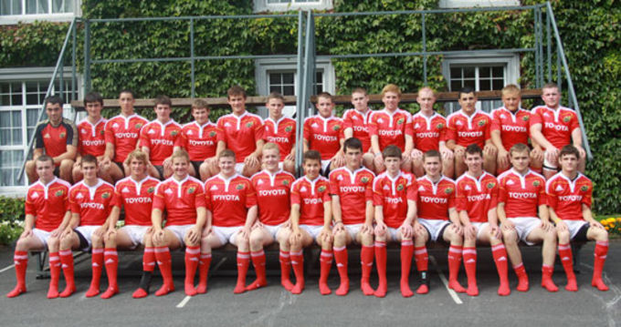 Munster U18 Club side pictured at the Munster Talent Camp in Rockwell College