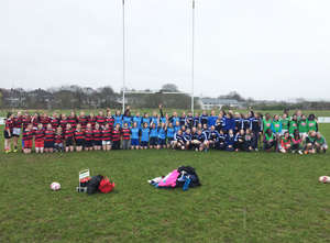 Girls Under 15 Tag Rugby Blitz Day