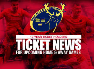 Ticket Update: Connacht Away & Racing Home