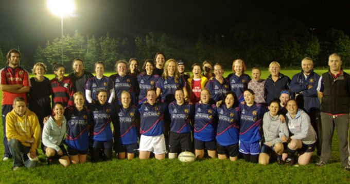 Waterford City RFC Women's Team and Coaches