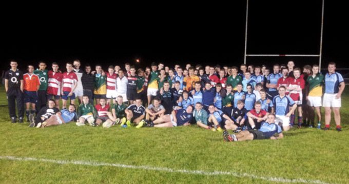 West and East Munster Regional Development Squads pictured at Castleisland RFC