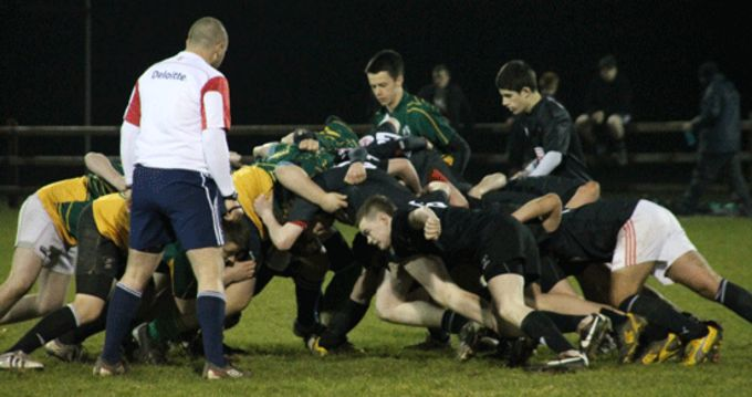 West Munster Regional Development Squad in action against Newcastlewest U16's