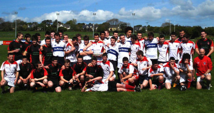 Participants at the West Munster 10 Aside Tournament