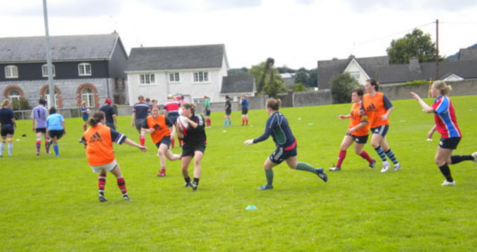 Munster Women in training