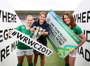 Briggs Launches Ticket Sale For Women's Rugby World Cup 2017