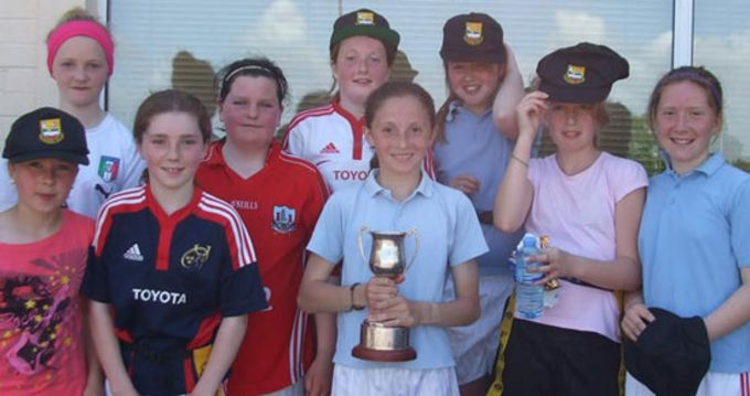 Killeagh NS, winners of the Clonpriest Cup