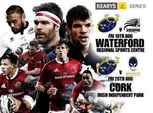 Munster Hit Waterford This Friday