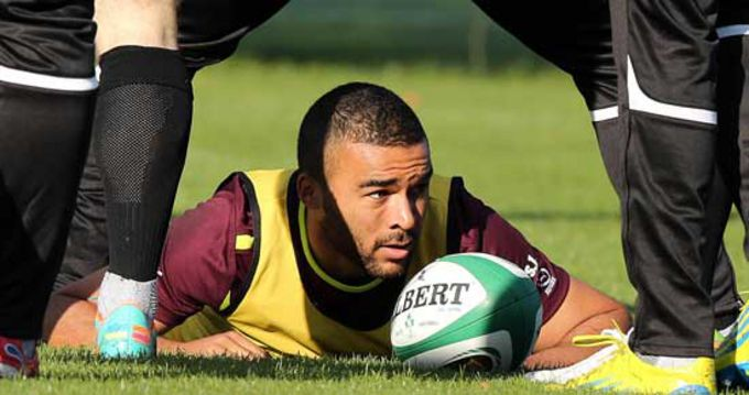 Simon Zebo will start at fullback against South Africa