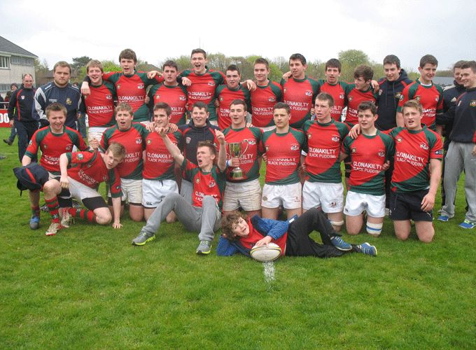 Clonakilty squad who recently won the South Munster Under 18 League Title.