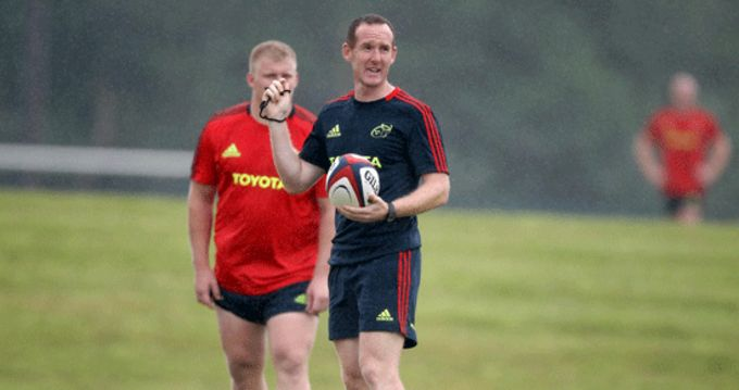 Munster's British & Irish Cup Coach Ian Costello
