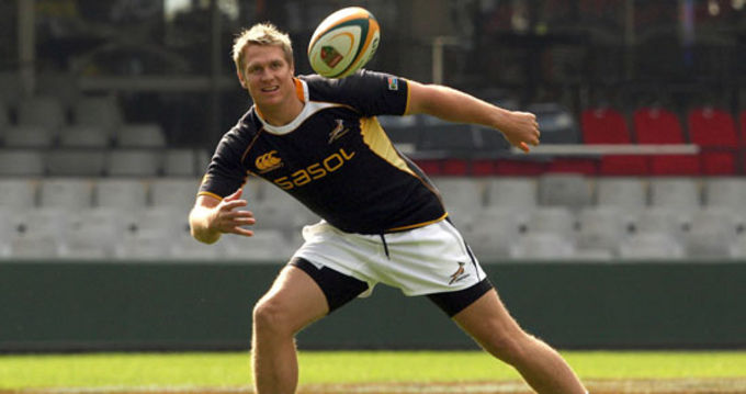 Munster's latest acquisition Jean de Villiers