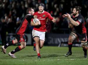 Munster Grind Out Win In Edinburgh