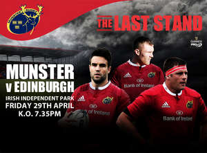 Munster V Edinburgh Sold Out