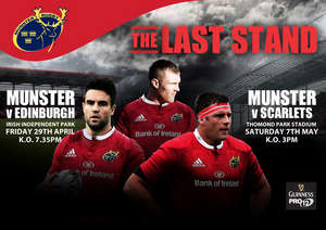 Ticket & Matchday Info - Munster V Edinburgh