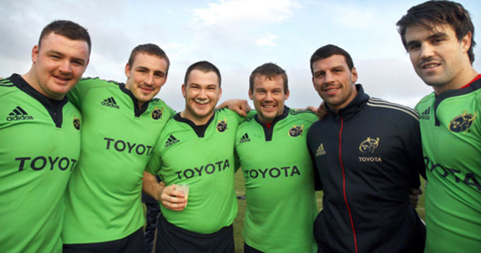 Some of Munster's Movembers