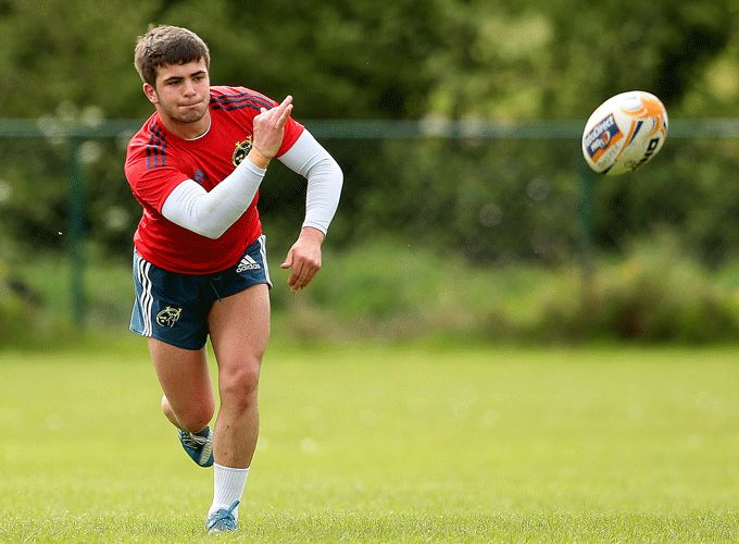 Ryan Foley training with Munster